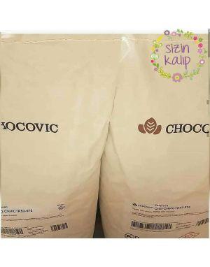 Chocovic 10 kg Bitter %53 Kakao Kuvertür Çikolata