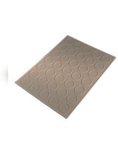 Macaron Mat Daire Şekilli 35 hücreli