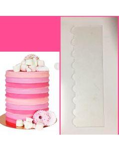 Tümsek Pasta Malası - pleksi pasta kenar şekillendirici