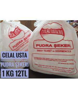 Celal Usta Pudra Şekeri- Nişastasız Pudra Şekeri - 1 kg