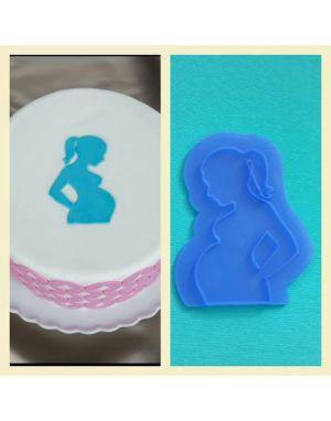 Hamile kadın bordür
