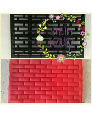Duvar desenli patchwork baskı kalıp
